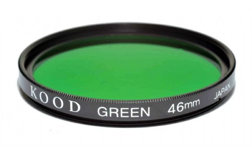 Kood High Quality Optical Glass Green Filter Made in Japan 46mm